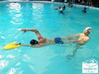 lưu ý khi học bơi sải