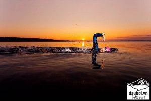 bơi sải đường dài