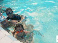 những lưu ý khi trẻ học bơi