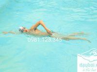 học bơi sải