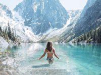 học bơi mùa đông